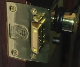 lock BS3621 fitted by Edinburgh locksmith